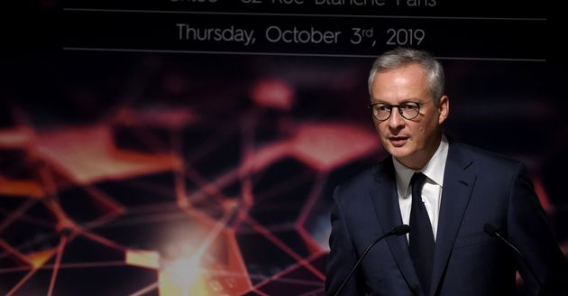 Bruno Le Maire lors d'une conférence à Paris le 3