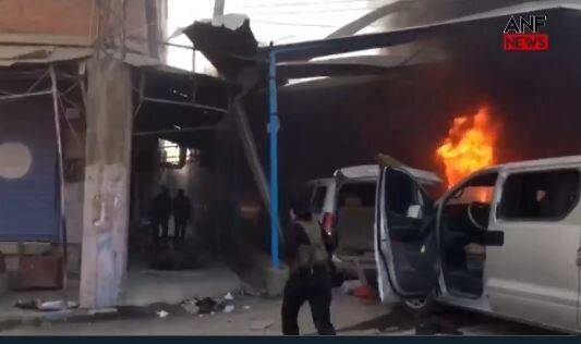 Αιματοχυσία στη Συρία: Οι Τούρκοι βομβάρδισαν κομβόι αμάχων και
