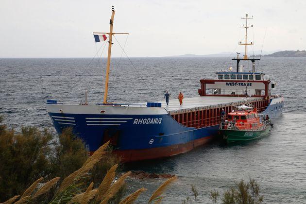 Bonifacio: un cargo s'échoue au cœur d'une réserve
