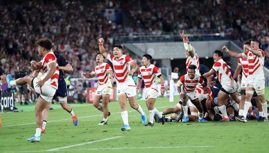 【ラグビーワールドカップ】日本代表を海外の報道機関も賞賛 「これからの世代にも語り継がれる試合」