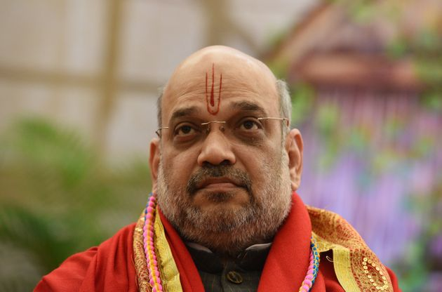 Union Home Minister Amit Shah during