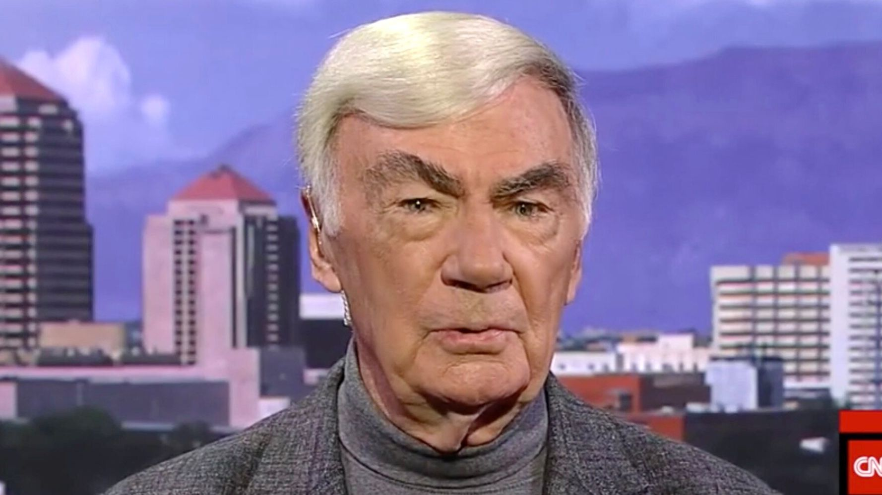Sam Donaldson Makes Rare Endorsement: We're In The Grip Of A Sick, Ignorant Man