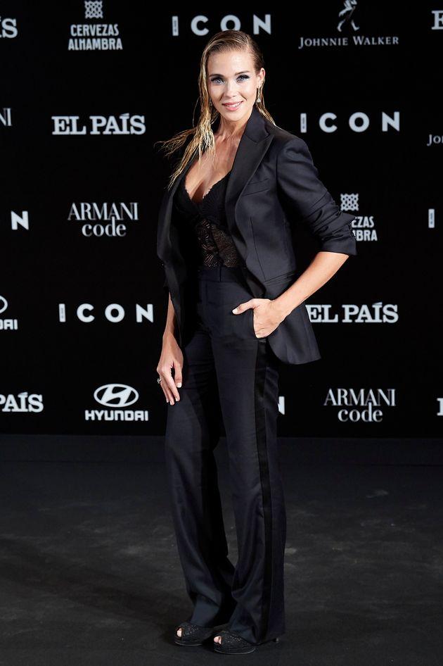 Patricia Montero, en los premios ICON el 9 de octubre de
