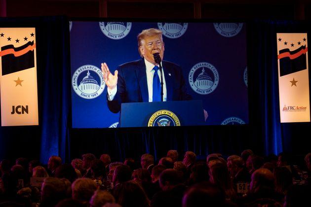 El presidente de EE UU, Donald