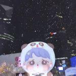 10월 13일 강남 한복판에 눈이 내린