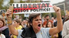 スペインカタロニアがリーダーに有罪となランドマークの決定以上の独立性の入札