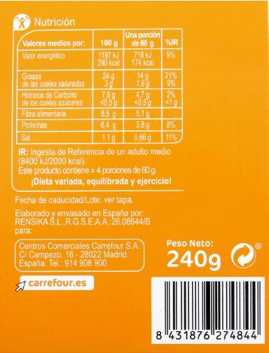 Hummus de Carrefour.