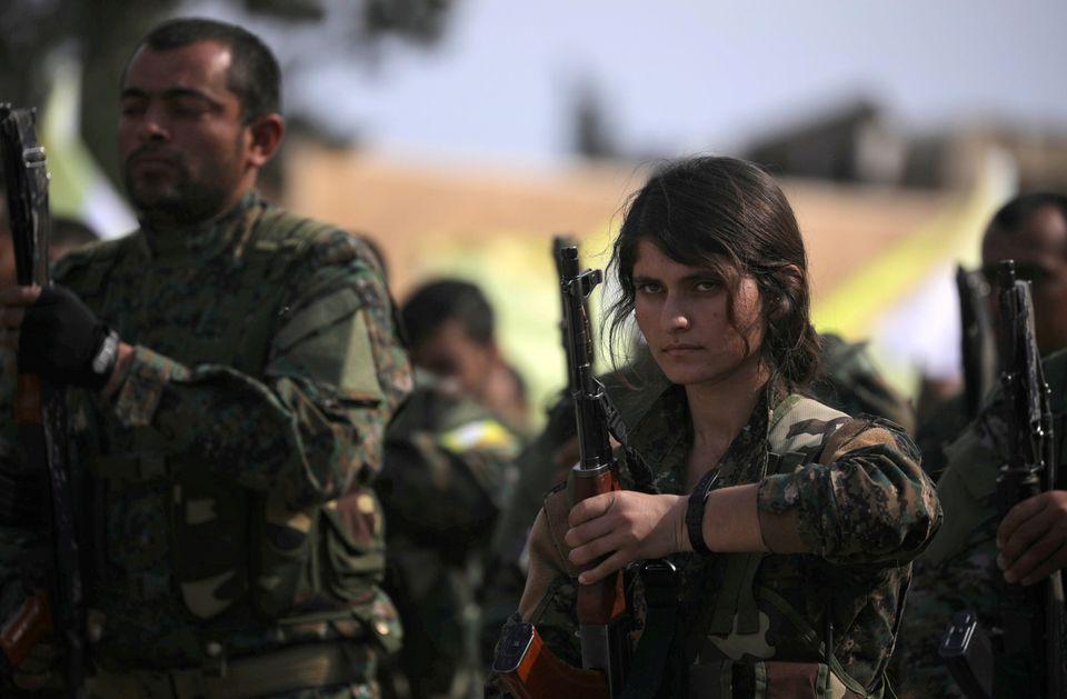 Μέλη του SDF την ημέρα που...