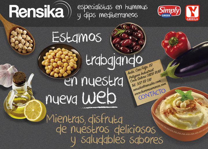 Página web de Rensika.