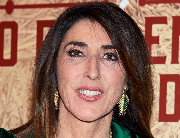 La presentadora Paz Padilla, en el concierto de Bertín Osborne en Madrid el 25 de marzo de