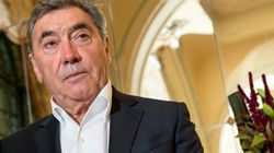 Eddy Merckx, hospitalizado tras un golpe en la cabeza al caerse de la