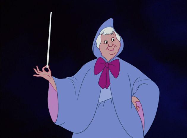 Voici à quoi ressemblait la Marraine fée dans l'adaptation de Disney datant de