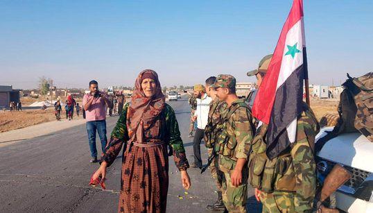 L'armée syrienne intervient pour stopper l'offensive turque contre des forces