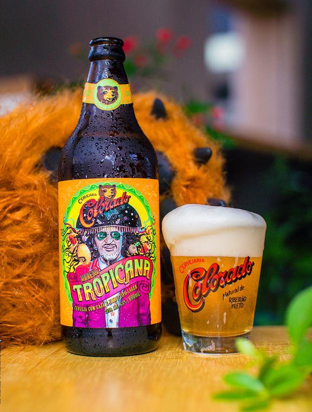 Colorado lança 'Tropicana', cerveja para homenagear Alceu