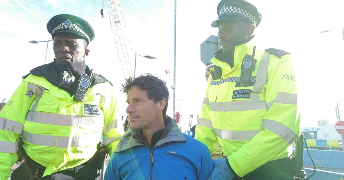 This Is What It's Like To Be Arrested With Extinction Rebellion, As An Ex-Police Officer