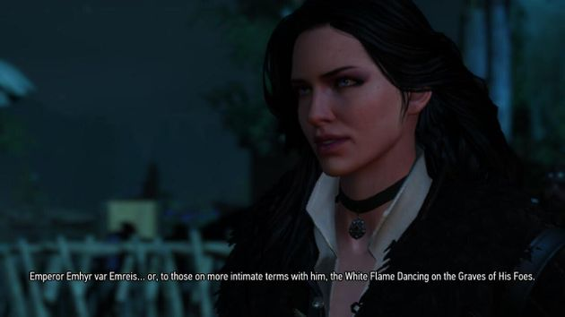 The strongest point of The Witcher 3, on any platform, is its character driven