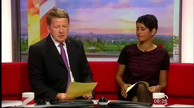 Bill Turnbull and Naga Munchetty on BBC