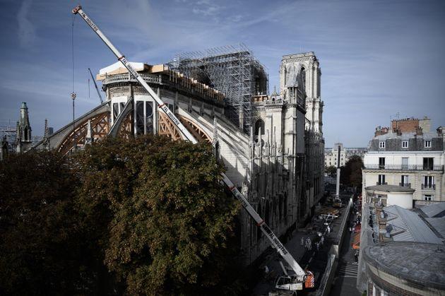 Notre-Dame de Paris photographiée le 4 octobre