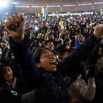 Equateur: Joie dans les rues de Quito pour célébrer la fin de la