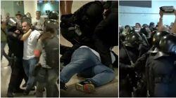 Scontri in aeroporto a Barcellona tra i manifestanti indipendentisti e la polizia