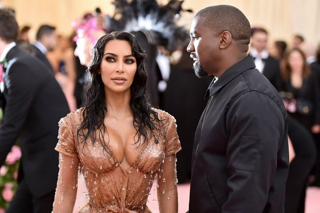 Kardashian and West attend the 2019 Met Gala Celebrating Camp: Notes on Fashion at the Metropolitan Museum...