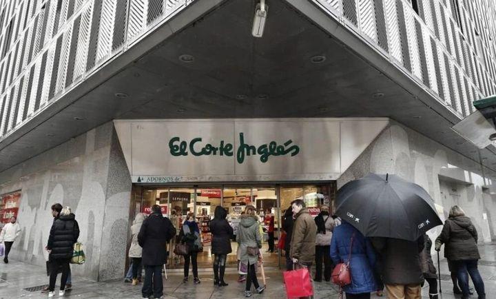 Un establecimiento de El Corte Inglés.