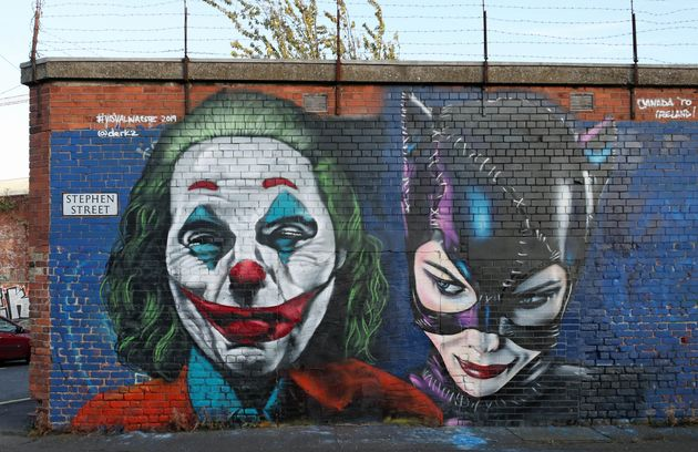 Belfast graffiti and mural art company, Visual Waste, have produced a tribute to the new Joker film,...