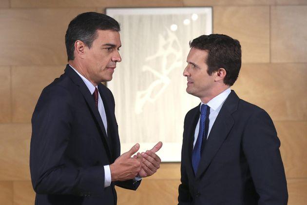 Sánchez y Casado, en una imagen de