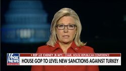 Liz Cheney: Impeachment Inquiry Partly To Blame For Turkey's Invasion Of