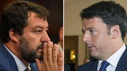 Renzi vs Salvini, duello tv alla