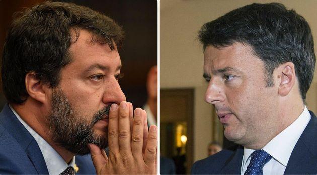 Renzi vs Salvini, duello tv alla Rocky