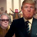 Une vidéo parodique montrant Trump exécutant des médias fait
