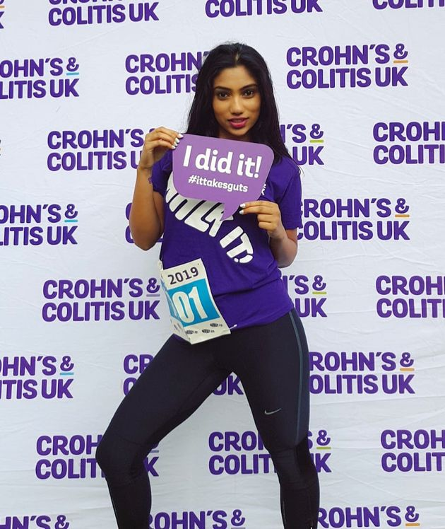 Sunil took part in the Crohn's & Colitis It Takes Guts Walk It in