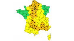 37 départements, dont ceux d'Île-de-France, toujours en vigilance orange aux