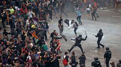 Así han sido las protestas por toda Cataluña contra la sentencia del Tribunal
