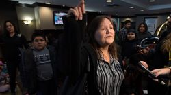 Des sinistrés autochtones au Manitoba attendaient Scheer de pied