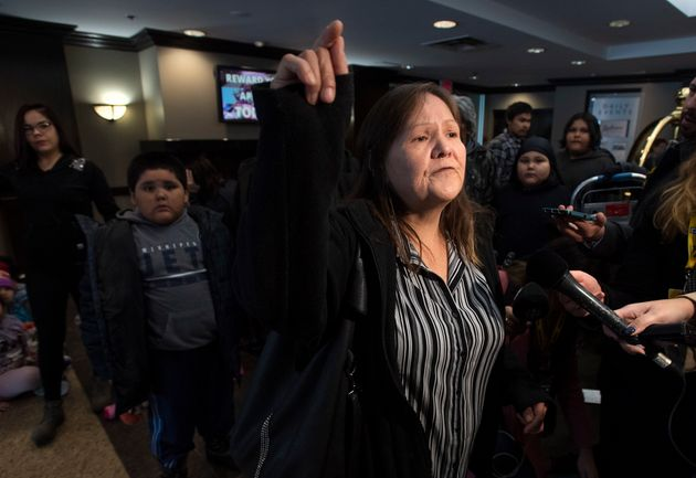 Des sinistrés autochtones au Manitoba attendaient Andrew Scheer de pied ferme
