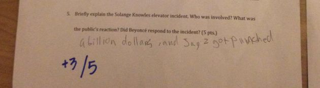 This Woman Made Her Boyfriend Take A Beyoncé Exam Before They Married