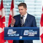 Coalition: Scheer accuse Trudeau d'être prêt à «n'importe quoi» pour le