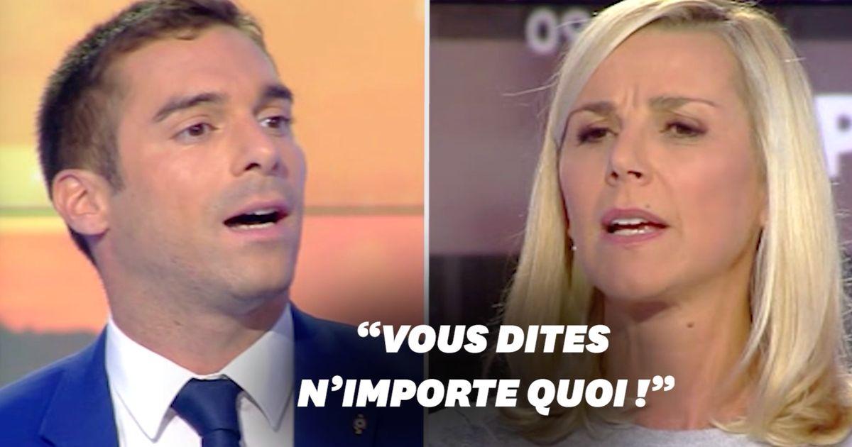 Laurence Ferrari recadre Julien Odoul après son intervention contre une femme voilée