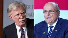 ジョン-ボルトンの指導補佐官の警告をホワイトハウス弁護士のつのルビGiuliani:報告