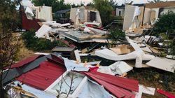 Arles frappé par de violents orages, 60 personnes