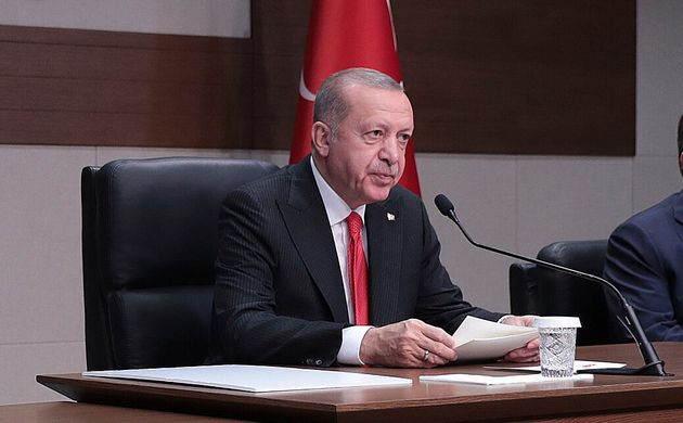 Recep Tayyip Erdogan le 14