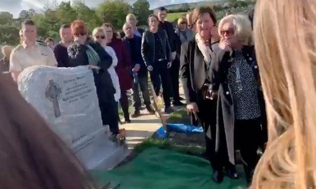 El entierro donde se gastó la