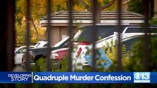 Man Fährt Nach Kalifornien, Polizei, Station, Mit Der Leiche Im Auto, Sagt Er Tötete 4 Menschen