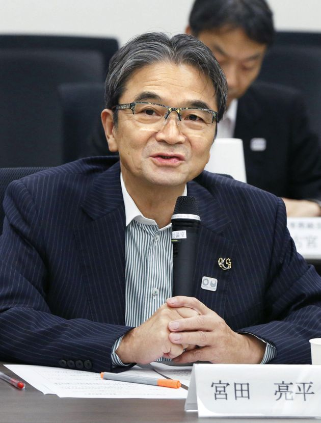 文化庁長官の宮田亮平氏