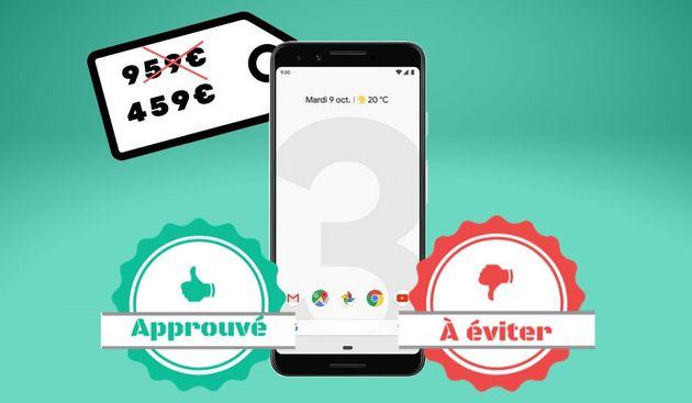 La promo du Pixel 3 de Google à 459 euros vaut-elle le
