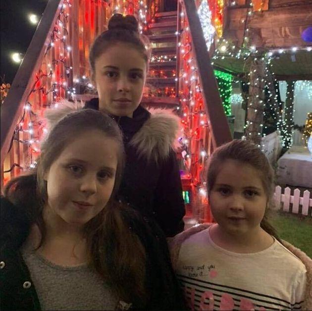 Le tre figlie più piccole di Stephen e