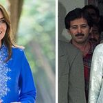 Kate in abito tradizionale pakistano come Lady D. E William: