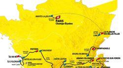Découvrez le tracé du Tour de France